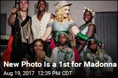 New Photo Is a 1st for Madonna