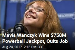 Mavis Wanczyk Wins $758M Powerball Jackpot, Quits Job