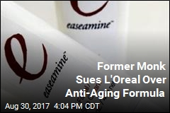 Former Monk Says L'Oreal Stole His Anti-Aging Formula