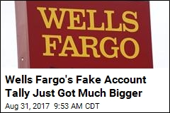 Wells Fargo Uncovers Another 1.4M Questionable Accounts