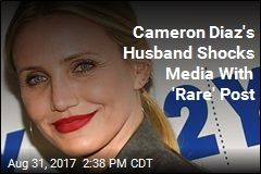 In 'Rare' Move, Cameron Diaz's Husband Talks About Her Publicly