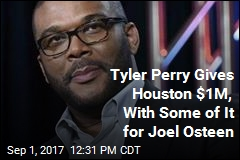 Tyler Perry Steps Up for Houston—and Joel Osteen