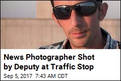 News Photographer Shot by Deputy at Traffic Stop
