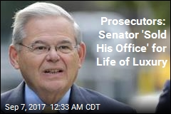 Prosecutors: Senator 'Sold His Office' for Life of Luxury