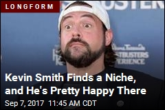 Kevin Smith Is Pretty Happy Out of the Pop-Culture Zeitgeist