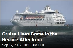 Cruise Lines Come to the Rescue After Irma