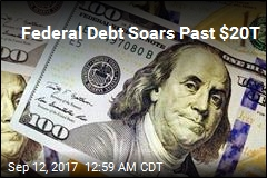Federal Debt Soars Past $20 Trillion