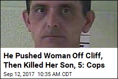 He Pushed Woman Off Cliff, Then Killed Her Son, 5: Cops