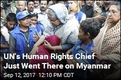 UN Human Rights Chief Drops 2 Volatile Words on Myanmar