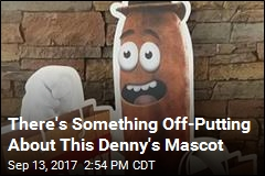 Is This Denny's Mascot a Piece of Poo?