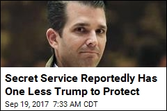 Sources: Trump Jr. Ditches Secret Service Protection