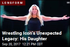 Wrestler Ric Flair's Improbable Successor: His Daughter