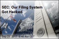 SEC: Our Filing System Got Hacked