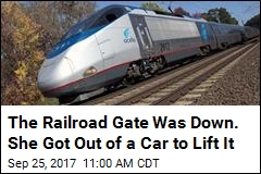 Woman Lifts Safety Gate, Is Killed by Amtrak Train