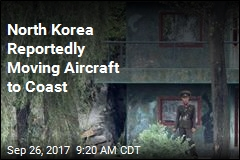 North Korea Reportedly Moving Aircraft to Coast