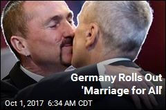 Germany Rolls Out 'Marriage for All'