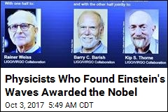 Physicists Who Found Einstein's Waves Awarded the Nobel