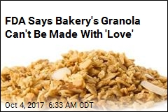 FDA Has a Problem With Bakery's Use of 'Love'