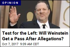 Test for the Left: Will Weinstein Be Vilified Like Bill O'Reilly?