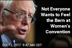 Not Everyone Wants to Feel the Bern at Women's Convention