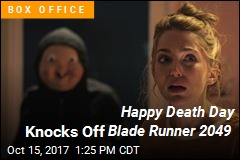 Happy Death Day Wins the Weekend Box Office