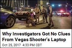 The Hard Drive Is Missing From Vegas Shooter's Laptop