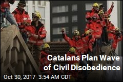 Catalans Plan Wave of Civil Disobedience