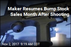 Maker Resumes Bump Stock Sales Month After Shooting