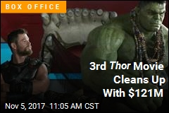 Thor: Ragnarok Wins Big With $121M Debut Weekend