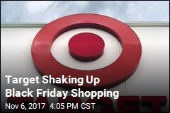 Target to Give Holiday Shoppers a Little Rest