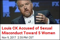 5 Women Accuse Louis CK of Sexual Misconduct