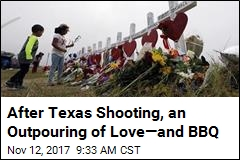 After Texas Church Shooting, an Outpouring of Love—and BBQ