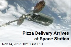 Special Delivery! Ice Cream, Pizza Arrive at Space Station