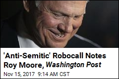 Bizarre Robocall Asking for Dirt on Moore Is Not What It Seems