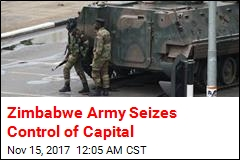 Zimbabwe Army Seizes Control of Capital