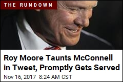 Moore Taunts McConnell in Tweet, Promptly Gets Served