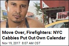 Move Over, Firefighters: NYC Cabbies Put Out Own Calendar