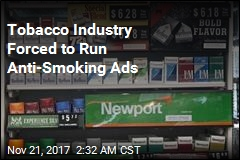 Big Tobacco to Air Anti-Smoking Ads on TV