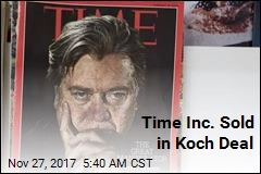 Time Magazine Sold in Koch Deal