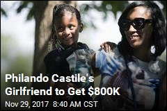 Philando Castile's Girlfriend to Get $800K