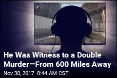 He Was Witness to a Double Murder—From 600 Miles Away