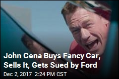 John Cena Buys Fancy Car, Sells It, Gets Sued by Ford