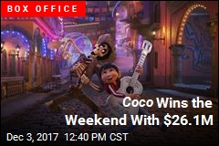 Coco Is No. 1 for Second Week