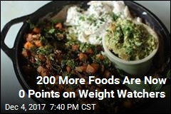 Weight Watchers Adds 200 Foods to 'No Points' List