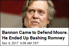 He Came to Defend Roy Moore. He Ended Up Bashing Romney