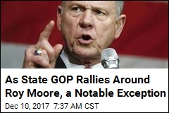 Most of Alabama's GOP Brass Rallies Behind Roy Moore