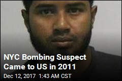 NYC Bombing Suspect Came to US in 2011