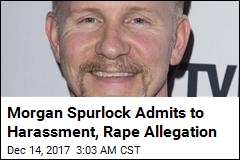 Morgan Spurlock Admits to Harassment, Rape Allegation