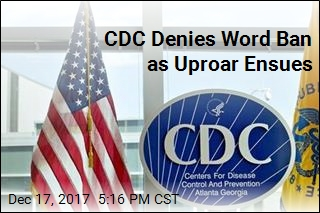 Experts Alarmed Over CDC's 7 Banned Words