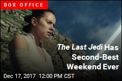 The Last Jedi Has Second-Best Weekend Ever